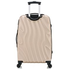 Amazon.com | Rockland Luggage Melbourne 20 Inch Expandable Carry On, Champagne, One Size | Carry-Ons