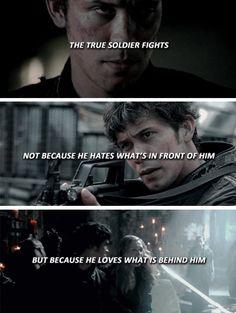The true soldier