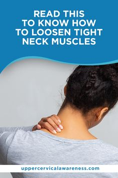 You can minimize your pain and give your neck some rest using the tips that we will provide in this blog. We'll also introduce you to upper cervical chiropractic care and how it can get down to the root of your problem. Upper Cervical Chiropractic, Chiropractic Care, Wellness Tips, Health And Wellness, Tight Neck, Sore Neck, Neck Pain Relief, Muscle Strain, Improve Posture
