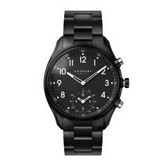 Kronaby APEX - Black 43mm dial Metal bracelet