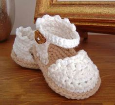 CROCHET PATTERN Baby shoes