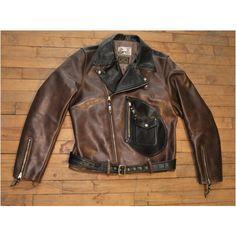 Avro Twotone D Pocket Sz. 42 Horsehide Jacket
