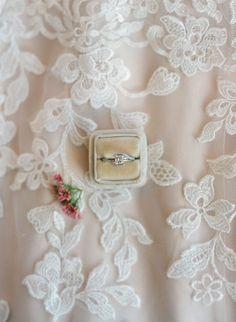 mrs box wedding ring accessory, diamond engagement ring, unique engagement rings, from elegant barn wedding at Riverside on the Potomac  | Audra Wrisley Photography