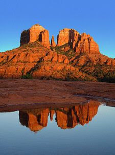 Sedona, Arizona - this is a gorgeous place to visit!  We took a four wheel drive tour back into the mountains.  Amazing!