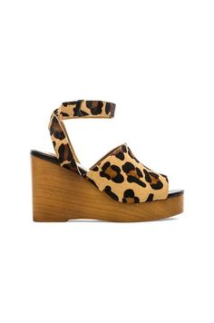 Soles x Skin Tret Cow Hair Wedge, $156; revolveclothing.com