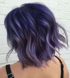 """Pulp Riot Hair Color (@pulpriothair) on Instagram: """"@Chloe_theyoungamerican from @theyoungamericansalon used Pulp Riot Velvet, Noir, and Lilac."""""""