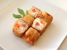 Харумаки с лососем