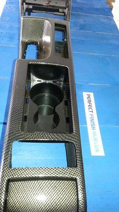 Interior coche en carbono