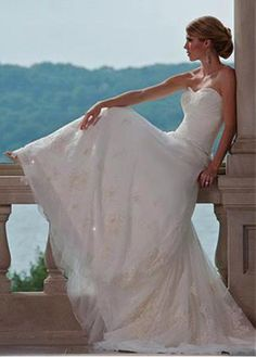 ELEGANT TULLE SATIN A-LINE SWEETHEART NECKLINE WEDDING DRESS WITH LACE APPLIQUES LACE BRIDESMAID PARTY COCKTAIL GOWN