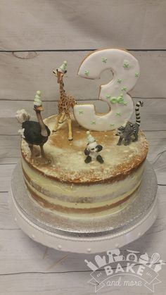 naked cake verjaardagstaart met dieren birthday cake with animals naked cake birthday cake with animals birthday cake with animals Birthday Cakes Girls Kids, Animal Birthday Cakes, 3rd Birthday Cakes, Cakes For Boys, Cupcake Pictures, Girl Cakes, Sweet Cakes, Creative Cakes, Fondant