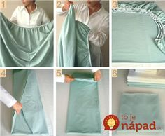 How To Fold A Fitted Sheet - No more rolling your sheets in a ball. Check out the Martha Stewart Video on our site. Konmari, Diy Laundry Basket, Folding Fitted Sheets, Organizar Closet, Laundry Hacks, Home Hacks, Hacks Diy, Martha Stewart, Organization Hacks