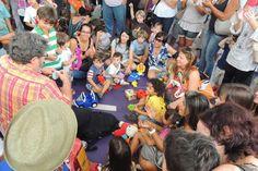 Experiência da feira de troca de brinquedos em Belo Horizonte