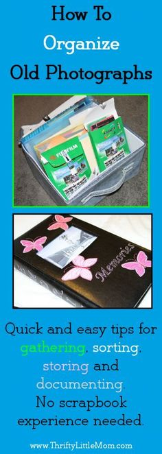 Might have to do this with all the pictures How To Organize Old Photographs without scrapbooking.