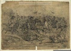 American Civil War Pictures & Photos   Cavalry charge near Brandy Station, Virginia.