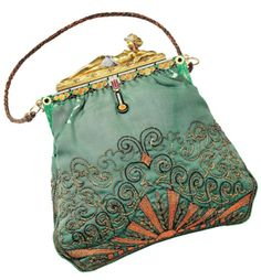 vintage evening bag - love the intricacies