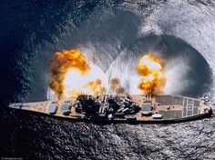 "USS Missouri Battleship - The ""Mighty Mo"" fire power"