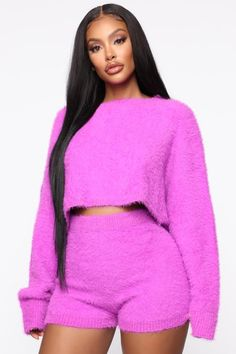 Speed Of Light Sequin Romper – Fuchsia – fashion nova jeans high waist Pink Outfits, Cute Outfits, Fashion Outfits, Gothic Fashion, Dark Denim, Distressed Denim, Olive Jeans, Mode Plus, Sweater Set