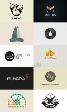 Logo Designs by Hossein Yektapour