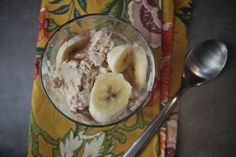 Peanut Butter Banana Frozen Yogurt (this recipe is a bit too much for my machine. Reduce by 1/2-3/4 cup