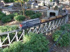 Model Train Garden   Flickr - Photo Sharing! Arkansas Mountains, Model Trains, Explore, Places, Garden, Garten, Lawn And Garden, Gardens, Gardening