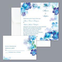 Good Desire   Cornflower Invitations At Http://www.invitationsbydavidsbridal.com/ Wedding