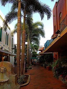 stunning masonry work in Downtown Fort Myers, Florida Fort Myers Beach Florida, Florida Girl, Florida Living, Florida Vacation, Florida Travel, Florida Beaches, Vacation Spots, Travel Portland, Sanibel Florida