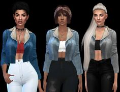 Jean Outfit – Leosims.com -New