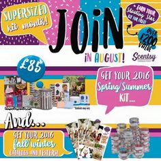 Join Scentsy In August and get extra testers and catalogues for free!  Request info at:  http://www.ldnwicklesscandles.co.uk/christine-jolley