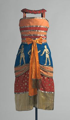 DELAUNAY , Sonia COLONEL W. DE BASIL'S BALLETS RUSSES  Collar from costume for a slave or dancing girl