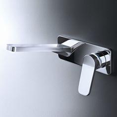 Fantini Waschtischmischer Levante | Unterputzausführung | Rodolfo Dordoni | modernes Design | zwei Oberflächen