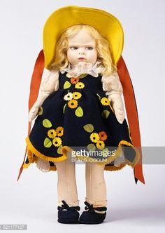 Lenci Grugnetto series 1500 felt doll with grumpy face