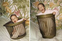 This Is What Happens When Adults Recreate Their Funniest Old Family Photos