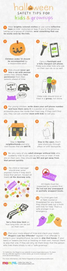 46 Best Halloween Safety Tips images in 2018   Halloween