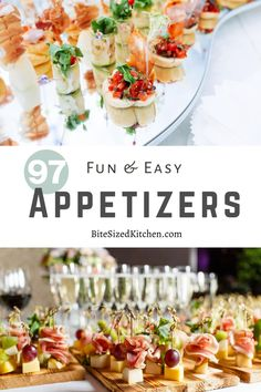 Birthday Party Appetizers, Cold Party Appetizers, Light Appetizers, Appetizers For A Crowd, Finger Food Appetizers, Food For A Crowd, Appetizer Recipes, Appetizer Ideas, Christmas Appetizers