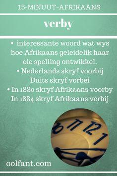 15-Minuut-Afrikaans. Leer Afrikaans. Tuisskool in Afrikaans