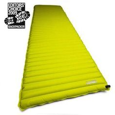 Thermarest Neo Air- yes it really is THAT comfortable and worth paying over 100 bucks for!
