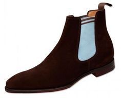 Alfred Sargent for Fred Perry suede Chelsea boots
