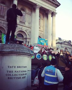 #PeoplesClimateMarch #BPOrNotBP #ArtNotOil #TateBritain #MillBank #Westminster #CityOfWestminster #London #UK #ClimateChange #BP #Tate #Oil #Art #Sponsorship #Photography #Police #TarSands #BloodOil #ClimateMarch #GlobalClimateMarch  bp-or-not-bp.org ArtNotOil.org.uk by lightanddark86