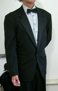 16f55cefa Burberry's One Button Black TUXEDO 46 R Reg #fashion #clothing #shoes  #accessories