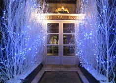 Hotel D'Aubusson Luxury Hotel Outdoor Holiday Decorating at Home Infatuation Blog