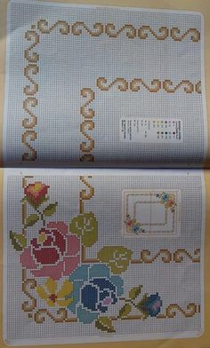 1 million+ Stunning Free Images to Use Anywhere Cross Stitch Rose, Cross Stitch Borders, Cross Stitch Flowers, Cross Stitch Designs, Cross Stitching, Cross Stitch Embroidery, Embroidery Patterns, Cross Stitch Patterns, Free To Use Images