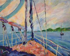 Sailing~by Peggy Johnson prints on http://fineartamerica.com/profiles/1-peggy-johnson.html