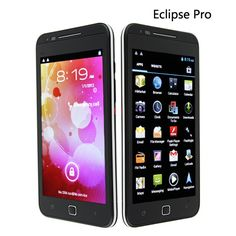 """Eclipse Pro:the 1st MTK6577 Android 4.0.4 Smart Phone, Dual SIM with GSM + WCDMA 3G,5.3"""" Multi-Touch Capacitive Screen, 1G CPU, Front 8M HD Camera+ Back Camera, 1080p Video"""