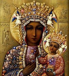 Black Madonna  - At the beginning of life, we are all female, born through and from the Mother!  Blessed be the Great Goddess!