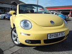 2008 Volkswagen Beetle Cabriolet 2.0i Volkswagen Beetle Cabriolet, Net, Diesel, Ebay, Cars, Vehicles, Diesel Fuel, Autos, Car