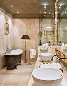 schöne badezimmer tapeten