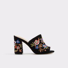 203293b3f02 Yaessi Midnight Black Women s Heels