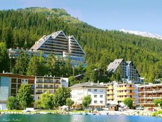 Crans-Montana, Switzerland- We Stayed at this ski resort in June and it was STILL cold! Lovely views, excellent rooms and bathrooms with separate bidets. I can only imagine how COLD this resort must be in the snowy winter!