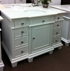 Avanity Hamilton In Vanity Cabinet Only In French White The