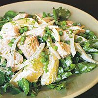Salmon, Fennel, and Potato Salad with Sour-Cream Dressing by Food & Wine